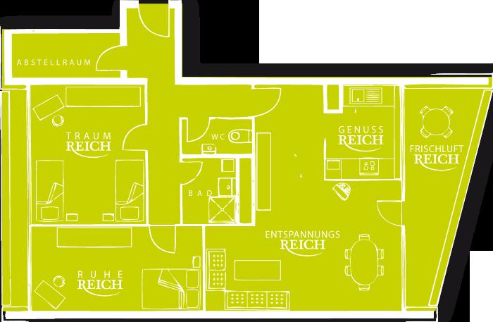 ruhereich – aussichtsreich, Hause deko